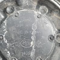 Fuel Matte Black Chrome Rivets  8 Lug Wheel Center Cap 1002-53B M-447