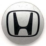 "Honda Wheel Center Hub Cap Silver 2.75"" OEM 44732-S9A-A00"