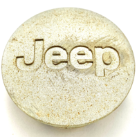 "Jeep Cherokee Compass Wrangler Wheel Center Hub Cap 2 1/8"" OEM Silver 5HT59TRMAC"