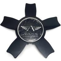 Avarus AV5 by Savini Black Center Cap M-345-2 M-345-1