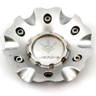 "Verde Hyper Silver 6.50"" Dia Bolt On Wheel Center Cap PN: CAP9024-S"