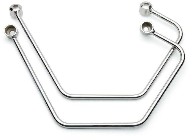 Cobra Chromed Saddlebag Support - 02-6111