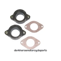 New Carburetor Intake Manifold Boots Yamaha XS650 TX650 74-79 #447-13555-01-00