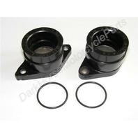 Carburetor Carb Intake Manifold Boots Yamaha XT350 TT350 55V-13586-01 11-4876