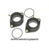 2x Carburetor Intake Manifold Boots Yamaha XVS1100 V-Star 99-09 K&L 11-6090