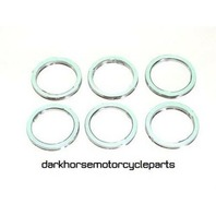 Honda Exhaust Gaskets for all GL1500 & GL1800 GoldWing Valkyrie #18291-216-000
