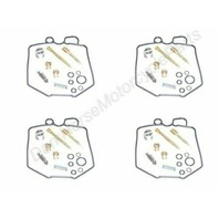 4x Carburetor Repair Kits for Honda CB750K 80-82 K&L 18-2554V