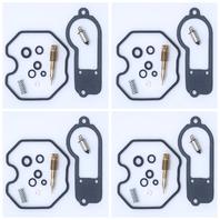 4x Carburetor Carb Repair Rebuild Kits Honda CB750F CB750K 77-78 K&L 18-5126
