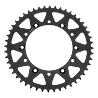BikeMaster Rear Steel Sprocket 520 48 Tooth - Black - fits Vintage Honda XR / XL