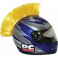 PC Racing Helmet Mohawk - Yellow - PCHMYELLOW