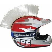 PC Racing Helmet Mohawk - White - PCHMWHITE