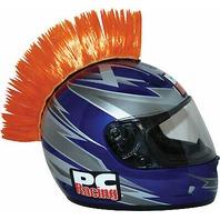 PC Racing Helmet Mohawk - Orange - PCHMORANGE