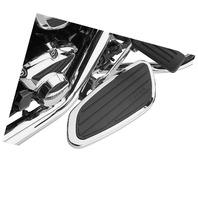 Cobra Swept Passenger Floorboards - Chrome - 06-4650