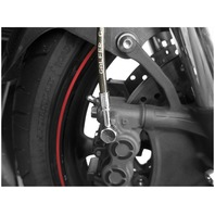 Galfer Sport Bike Series Colored Front Brake Line Kit - Smoke FK003D588-2-SMK
