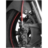 Galfer Sport Bike Series Colored Front Brake Line Kit - Red FK003D512R-RED