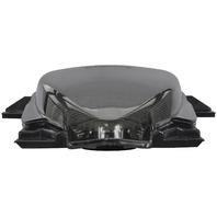 BikeMaster Integrated Taillight - Smoke Lens - TZS-018-INT-S
