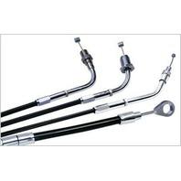 Barnett Vinyl Throttle Cable +4in 101-30-30007-04 for Harley-Davidson