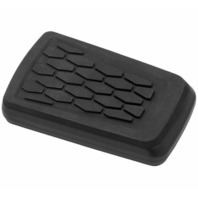 Kuryakyn Hex Brake Pedal Pad Black 5915
