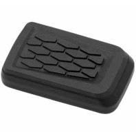 Kuryakyn Hex Brake Pedal Pad Black 5917