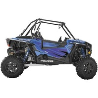 Dragonfire Racing Voodoo Blue Door Graphics for RZR XP1000 - 07-1110