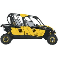 Dragonfire Racing Yellow Black Door Graphics for Can-Am Max X - 75788