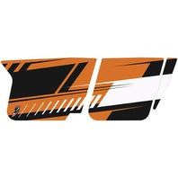 Dragonfire Racing Orange Madness LE Door Graphics for RZR XP900 - 14793