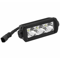 "Quad Boss Single Row Hi Lux LED Bars 5.5"" 3-Spot LEDs 12093S"