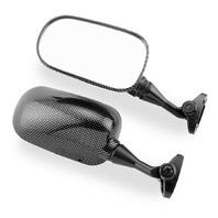 BikeMaster Carbon Fiber Left Mirror - FS-141-1 LH