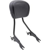 Cobra Black Detachable Backrest for Harley-Davidson's - 602-2000B
