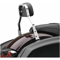 Cobra Chrome Detachable Backrest for Harley-Davidson's - 602-2031