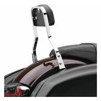Cobra Chrome Detachable Backrest for Harley-Davidson's - 602-2051