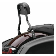 Cobra Black Detachable Backrest for Harley-Davidson's - 602-2051B