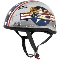 Skid Lid Helmets Original Bomber Pin Up Helmet - All Sizes