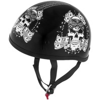 Skid Lid Helmets Original Thug Skull Helmet - All Sizes & Colors