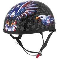 Skid Lid Helmets Original US Flame Graphics Helmet - All Sizes & Colors