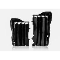 Acerbis Black Radiator Louvers - 2691520001