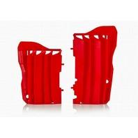 Acerbis Red Radiator Louvers - 2691510227
