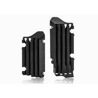 Acerbis Black Radiator Louvers - 2691550001