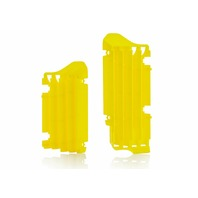 Acerbis Yellow/Black Radiator Louvers - 2691550231