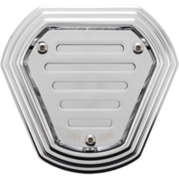 Burly Chrome Hex Air Cleaners B09-0008C