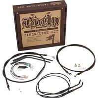 18in Extended Cable/Brake Line Kit for Burly Ape Handlebars B30-1020