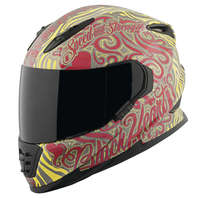 SPEED AND STRENGTH SS1310 Black Heart Helmet All Colors & Sizes