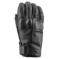 SPEED AND STRENGTH Women's Black Heart Leather Gloves All Colors & Sizes