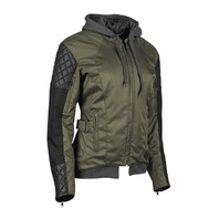 Speed & Strength Women's Double Take Leather-Textile Jacket - All Colors & Sizes