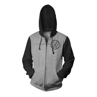 Speed & Strength Men's Sure Shot Hoody - Grey/Black - All Sizes