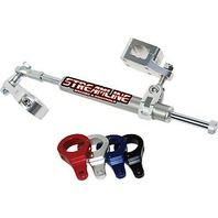 Streamline 11-Way Rebuildable ATV Steering Stabilizers - Black - BTS-ERB54-BK