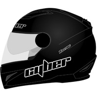 Cyber Helmets US-108 Full Face Solid Helmet - All Colors & Sizes