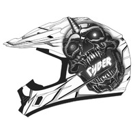 Cyber Helmets UX-24 Skull Helmet - All Colors & Sizes