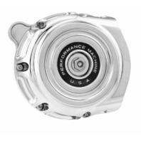 Performance Machine Chrome Vintage Air Cleaners for Indian - 0206-2133-CH