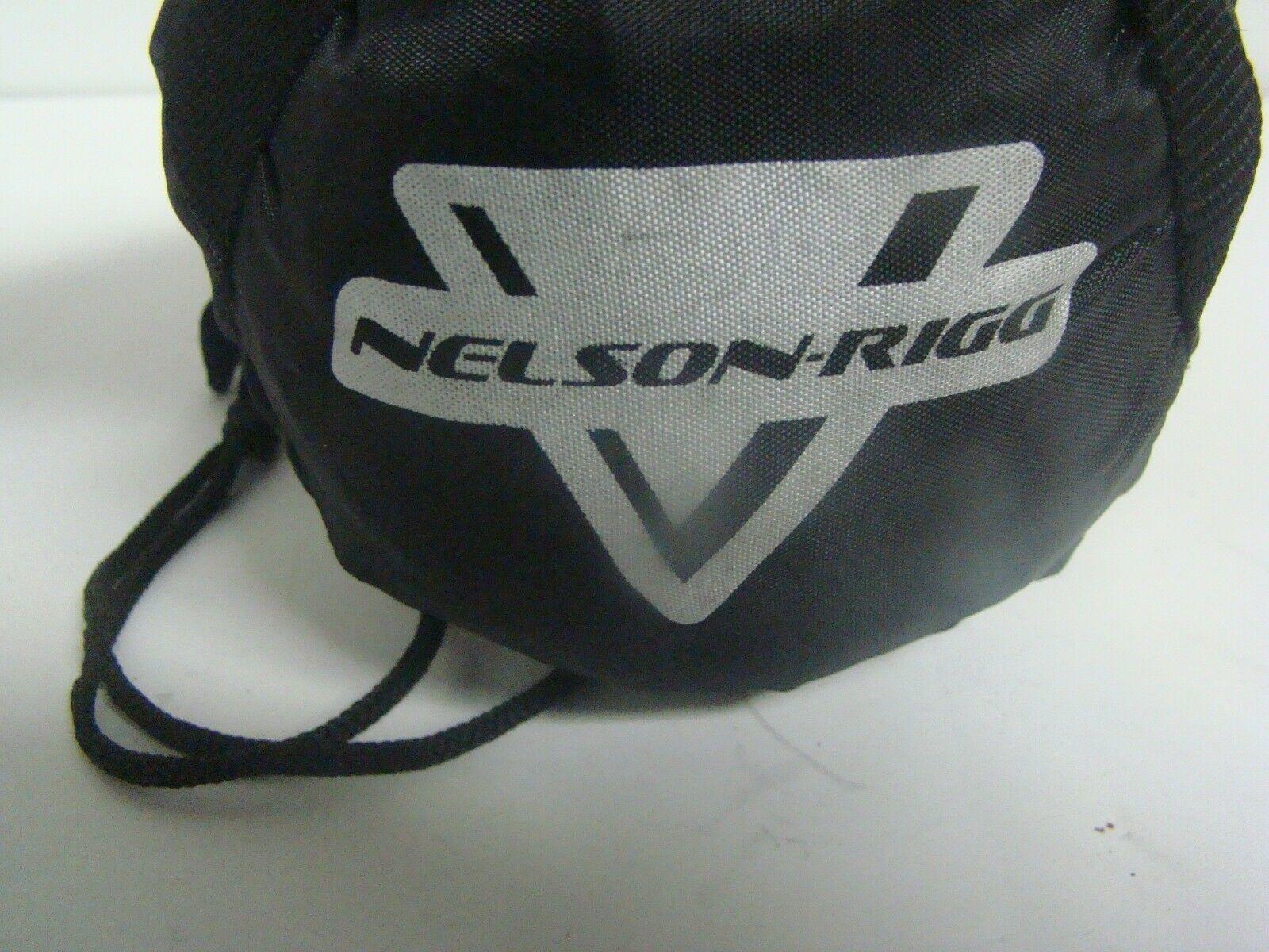 Black, Medium Nelson-Rigg MC-904-02-MD Deluxe All-Season Cover